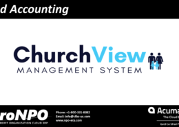 ChurchView Fund accounting