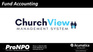 ChurchView Fund accounting