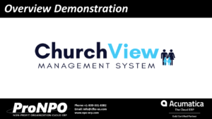ChurchView Video Demonstration