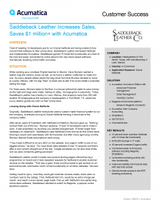 Acumatica Software Case Study