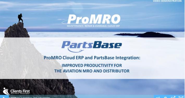 PartsBase Integration Demo