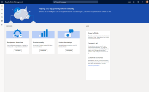 IoT for Dynamics 365 Supply chain