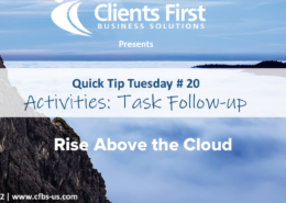 Acumatica Cloud ERP Quick Tip 20
